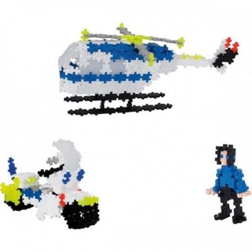 Conjunto Basic 480 peças - POLICIA 3 em 1