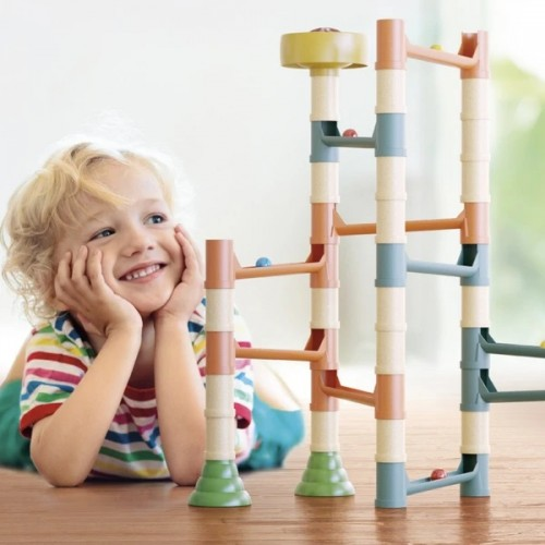 MIGOGA MARBLE RUN- PLAYBIO