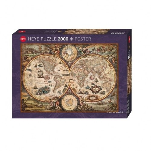 VINTAGE WORLD - PUZZLE + POSTER