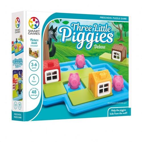 Three little piggies - jogo de lógica