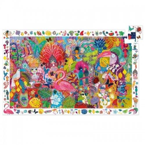 Carnaval - puzzle de observação