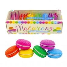 Macarons - Borrachas com cheiro