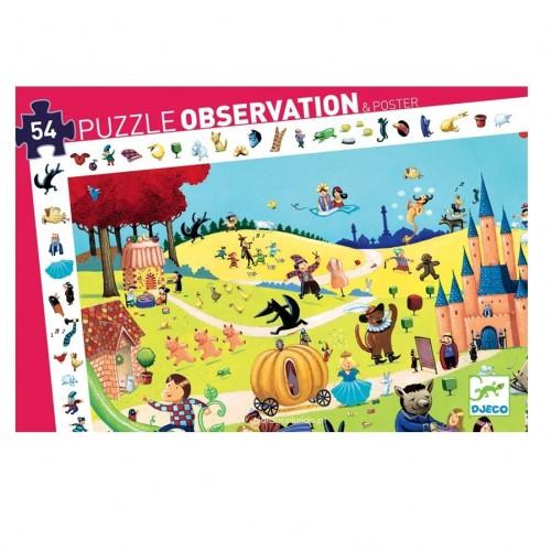 Os Contos - puzzle de observação
