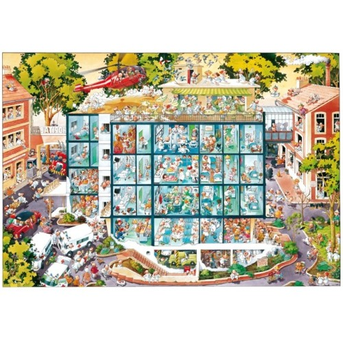 EMERGENCY ROOM - PUZZLE + POSTER