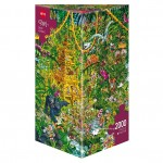 DEEP JUNGLE - PUZZLE + POSTER