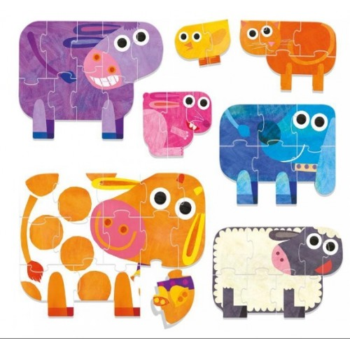 Play Farm Puzzle Progressivo  (ECO PLAY)