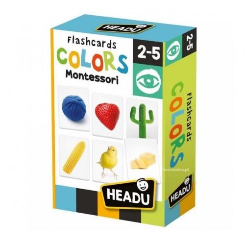 Flashcards Cores - Montessori
