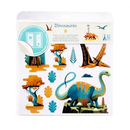 Autocolantes de vidro | Dinossauros