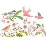 Autocolantes de vidro | Pássaros Românticos