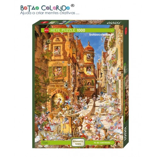 TOWN BY DAY - PUZZLE