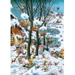 IN WINTER - PUZZLE