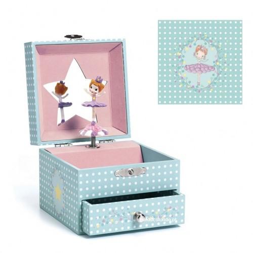 Caixa de música e guarda-jóias Bailarina Delicada