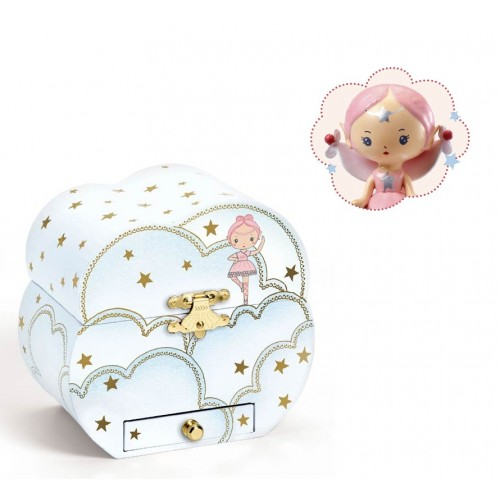 Caixa de música e guarda-jóias Melody d'Elfe