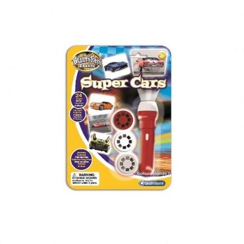Lanterna e projector - Super Carros