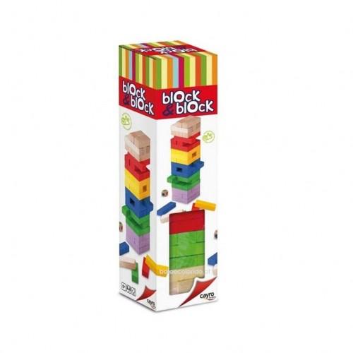 Block by Block - Colorido (JENGA)