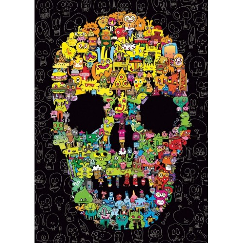 DOODLE SKULL- PUZZLE