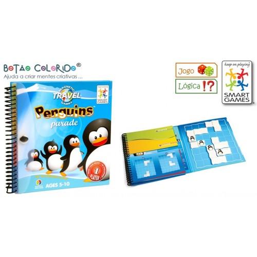 Penguins parade - jogo de lógica
