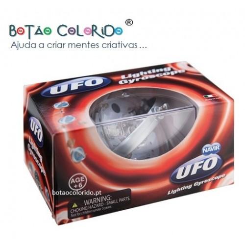 UFO Lighting Gyroscope (vermelho)