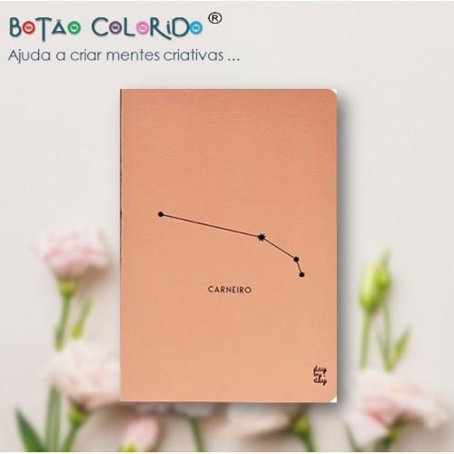 Caderno liso - Signo Carneiro