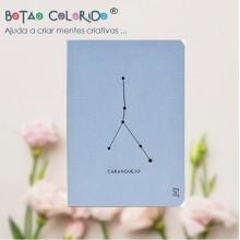 Caderno liso - Signo Caranguejo