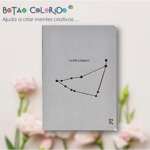 Caderno liso - Signo Capricórnio