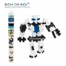 PLUS PLUS |Tubo 100 peças - Robot