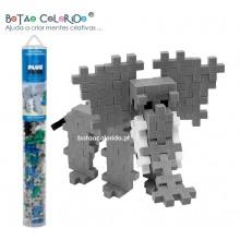 PLUS PLUS |Tubo 100 peças - Elefante