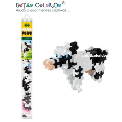 PLUS PLUS |Tubo 100 peças - Vaca