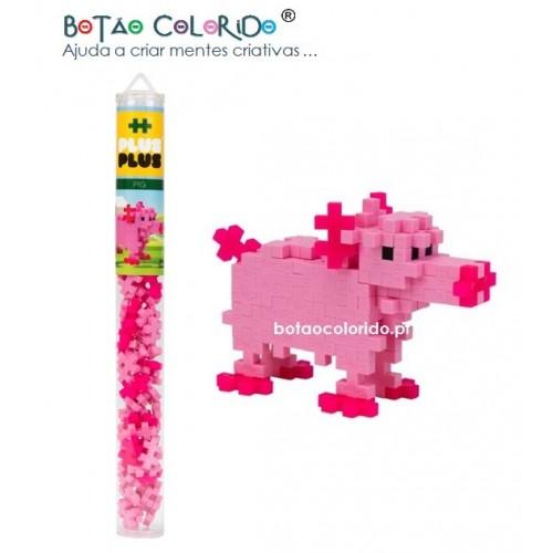 PLUS PLUS |Tubo 100 peças - Porco