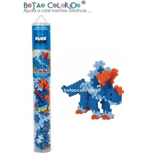 PLUS PLUS |Tubo 100 peças - Triceratops