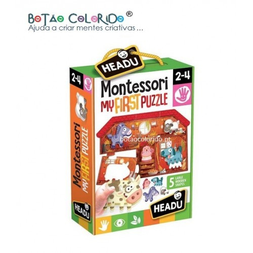 Montessori my first puzzle | QUINTA