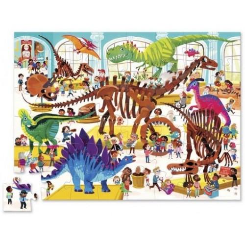 Um dia no Museu Dino - PUZZLE