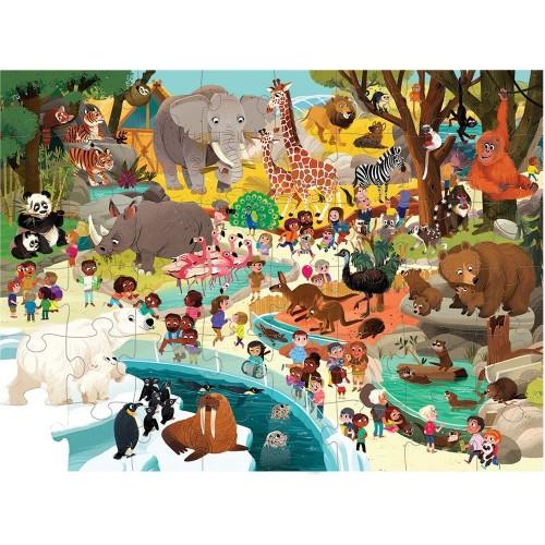 Um dia no Zoo- PUZZLE