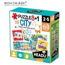 Puzzle 8+1 | CITY