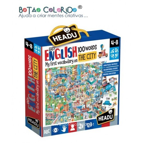 Easy English 100 words   CITY
