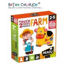 2 Piece Puzzle Touch| FARM