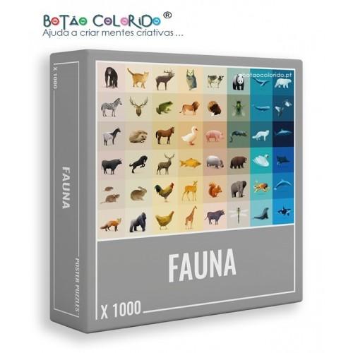 FAUNA | PUZZLE 1000 PEÇAS