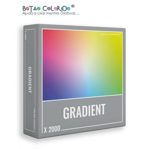 GRADIENT | PUZZLE 2000 PEÇAS