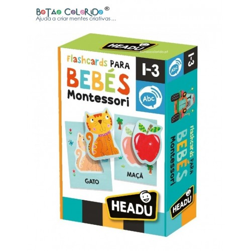 Flashcards para Bebé - Montessori