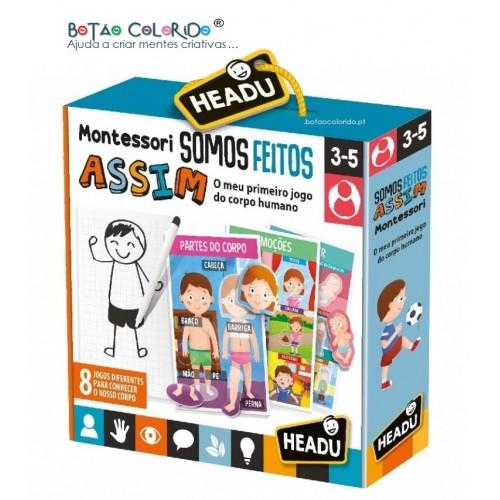 Somos Feitos ASSIM - Montessori
