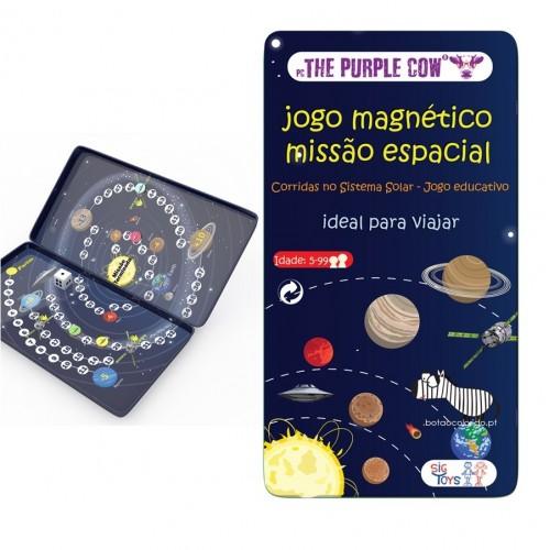 Jogo magnético - Missão Espacial