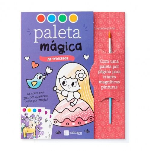 PALETA MÁGICA - PRINCESAS