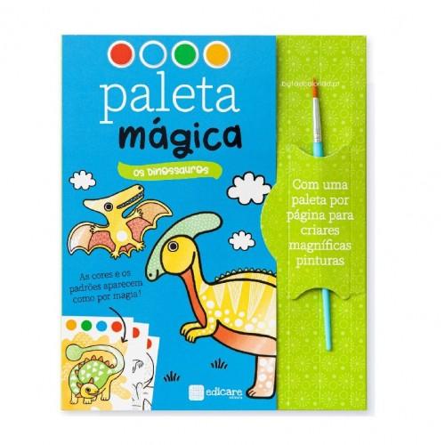PALETA MÁGICA - DINOSSAUROS