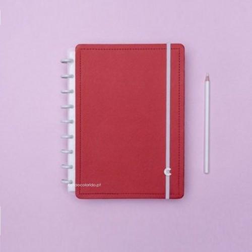 Caderno Inteligente A5 |Vermelho cereja