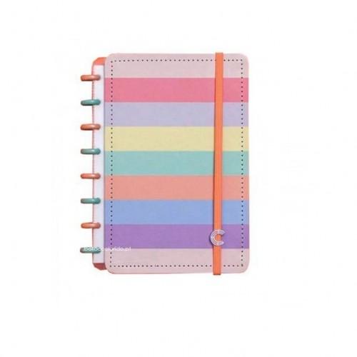 Caderno Inteligente A5 |Arco-Íris pastel