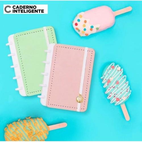 Caderno Inteligente A6 |Rosa Pastel
