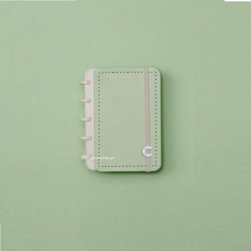 Caderno Inteligente A6 |Verde Pastel