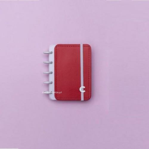 Caderno Inteligente A6 |Vermelho Cereja