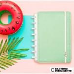Caderno Inteligente A5 |Verde Pastel