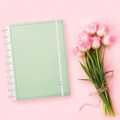 Caderno Inteligente G |Verde Pastel